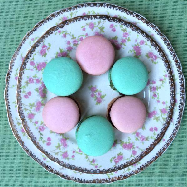 macarons feitos em casa