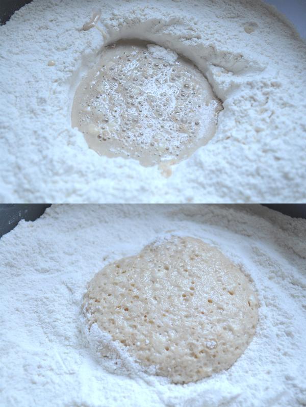 mini pão caseiro