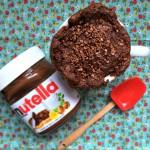 Trendy – Bolo de Xícara com Nutella